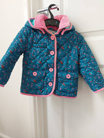 MARKS AND SPENCER Girls Coat 1.5 -2 years (18-24 months)