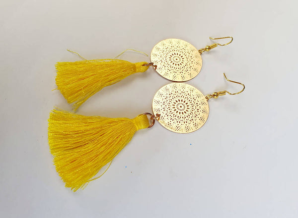 Yellow Tassel Drops