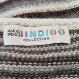 M&S Indigo Collection Jumper Dress Angora 10