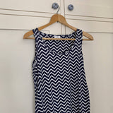 Mamalicious - Maternity Zig Zag Dress (M)