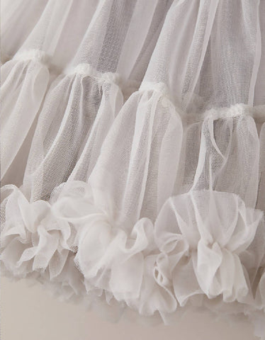 LITTLE SISTER - Pale Grey Tutu