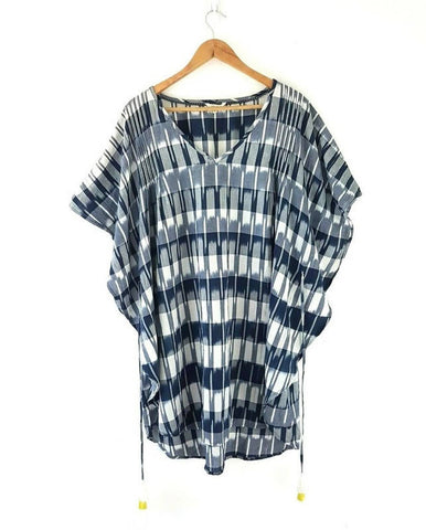 White Stuff Kaftan Beach Cover Up Tunic Large