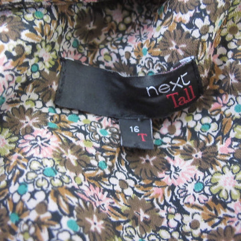 Next Ditsy Floral Dress 16 Tall