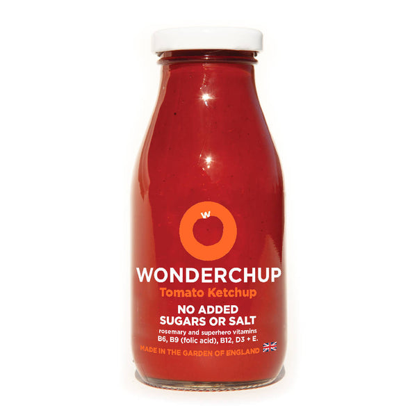 Wonderchup Healthy Tomato Ketchup with No Added Sugar or Salt
