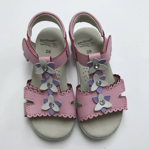PEDIPED FLOWER SANDALS 8.5