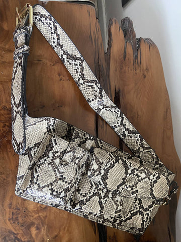 TopShop snakeskin belt bag