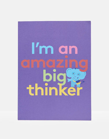 Stib Amazing Big Thinker A4 Print