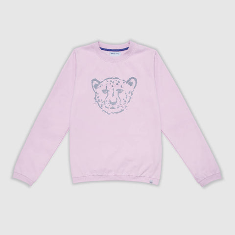 Pink Cheetah Adult Sweater