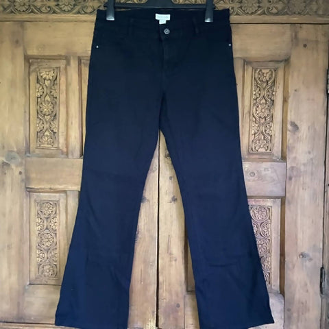 Monsoon flared black jeans, 14