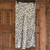 H&M snakeskin midi skirt, UK 14