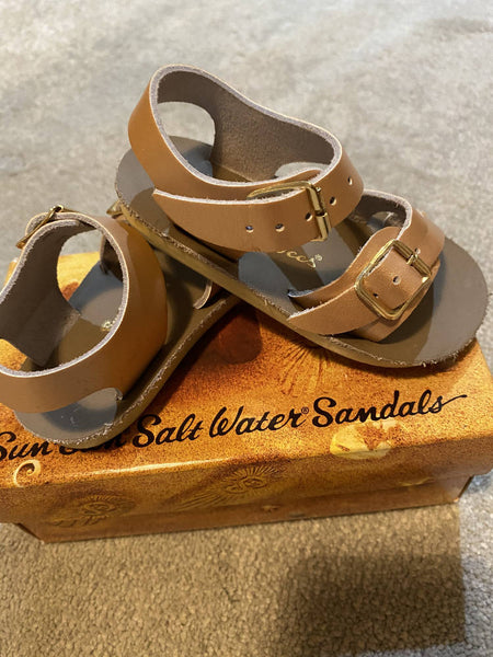 Salt Water Rose Gold sandals