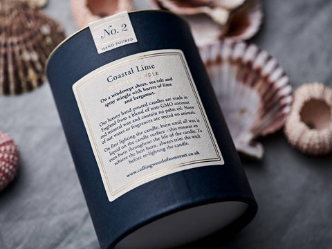 Coastal Lime Scented Candle