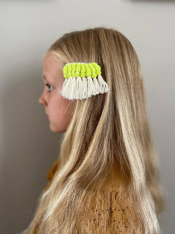 Boho Macrame Hair Clip Accessories