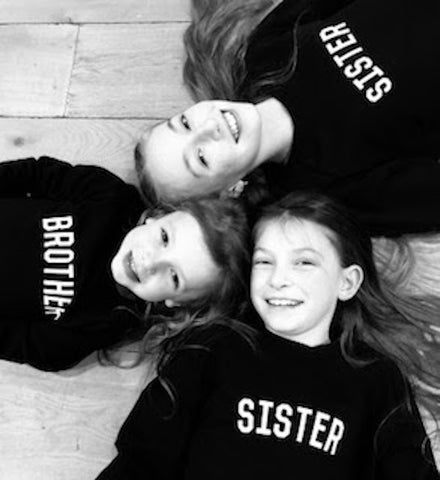 SISTER Kids' Tee <br> Black & White