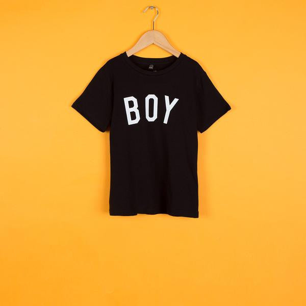 The BOY Tee <br> Black & White