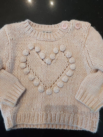 NEXT girls jumper age 12-18 months