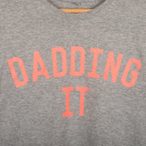The Grey & Neon DADDING IT Tee