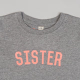 The Grey & Neon SISTER Kids' Tee