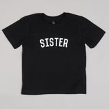 The Black & White SISTER Kids' Tee