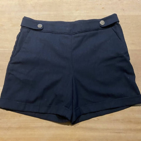 H&M tailored navy shorts, UK14