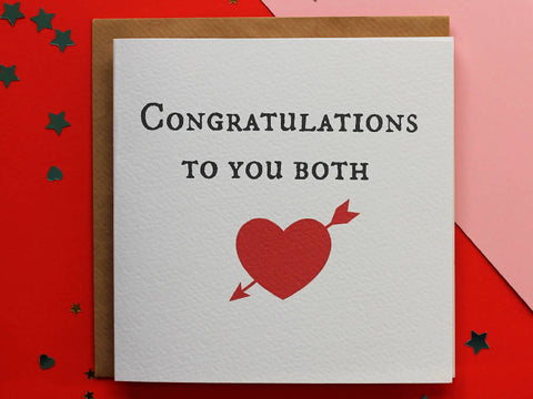Congratulations to You Both!
