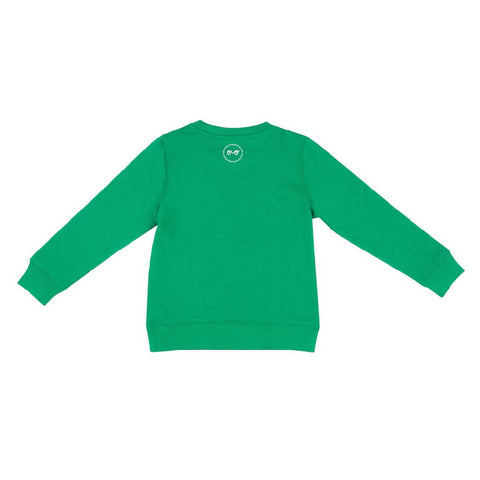 Kids Neon Eyes Sweatshirt - Green