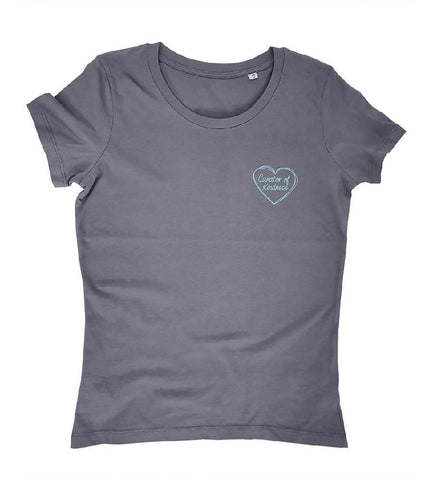 Curator of Kindness Sustainable T-Shirt Grey