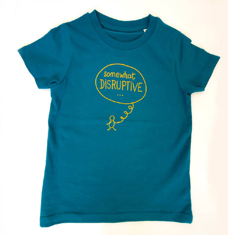 Kids Sustainable Tee - Somewhat Disruptive