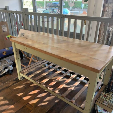 Butchers Block Table