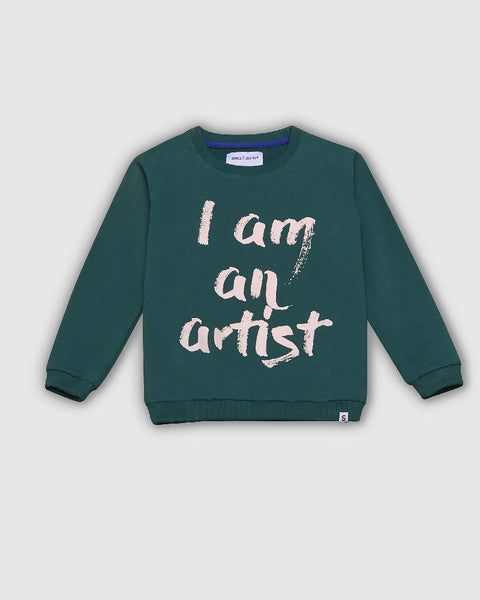 I am an artist sweater