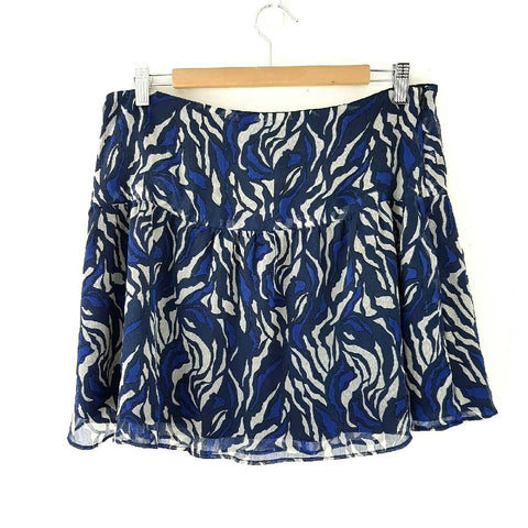 Hush Chiffon Mini Skirt 14