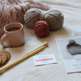 Bobble Hat Knitting Kit