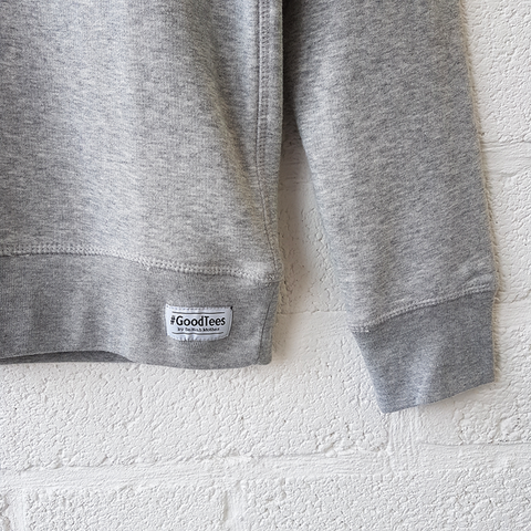 WINGING IT grey & neon sweatshirt <br> Selfish Mother