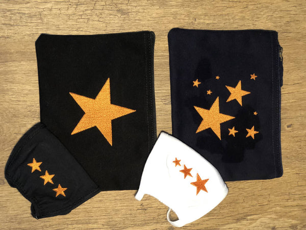 SEEING STARS Heart and Pouch Sets