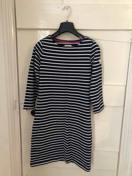 Joules Navy Striped Dress