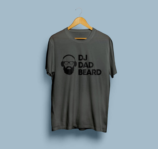 DJ Dad Beard Tshirt