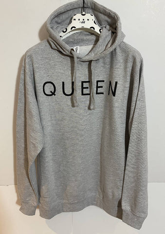 QUEEN Hooded Sweat Top