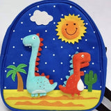 Kids Handmade Backpack Dinosaurs