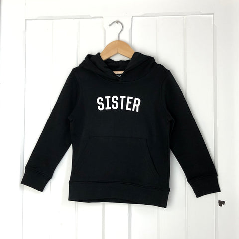 Sister Kids Hoody<br>Black