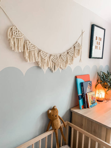 Macrame Bunting / Wall Hanging - Natural