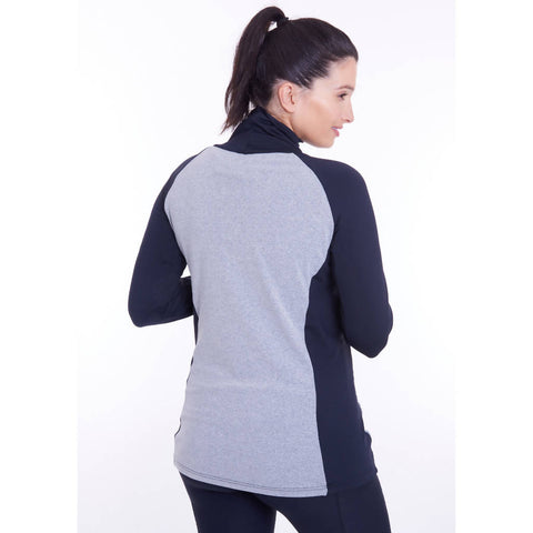 SPORTEE MOMMEE MATERNITY TRACK TOP