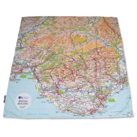 OS Brecon Beacons & Cardiff PACMAT Picnic Blanket
