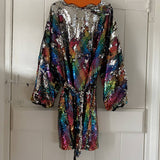 ZARA GIRLS SEQUINNED PARTY DRESS AGE 12/13