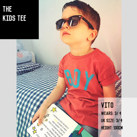 The Black & White BROTHER Kids' Tee
