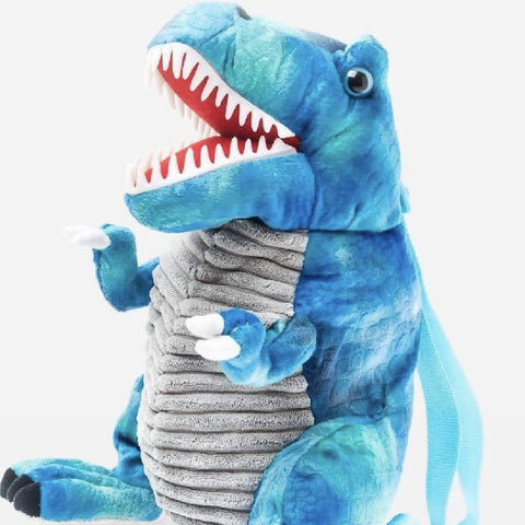Blue Dinosaur Backpack