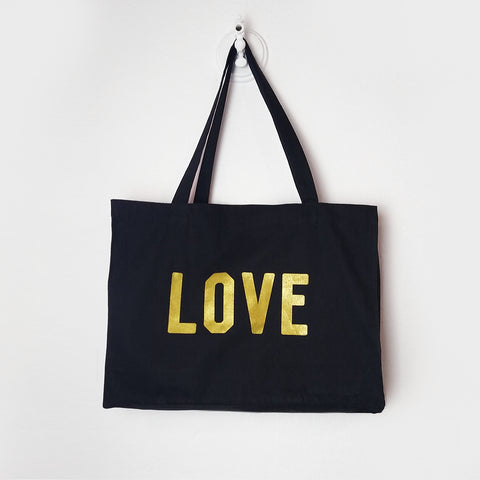 LOVE Giant Tote Bag