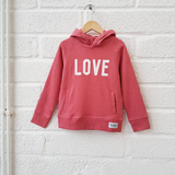 LOVE Kids Hoody<br>Pink