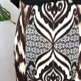 Eva Mendes NY & Co Abstract Pencil Skirt 12