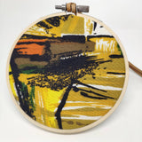Small Vintage Fabric Bauble - Abstract
