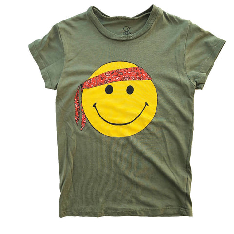 LAUREN MOSHI SMILEY PEACE T-SHIRT 4 YEARS
